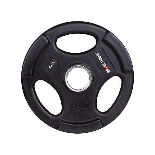 Sport-Thieme Wedstrijd-PU-Halterschijf, 25 kg