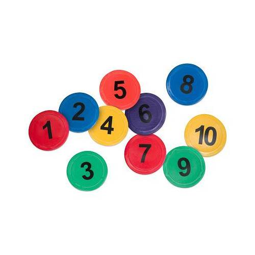 Sport-Thieme Kleurrijke Bodemmarkeringen , Nummers 1-10