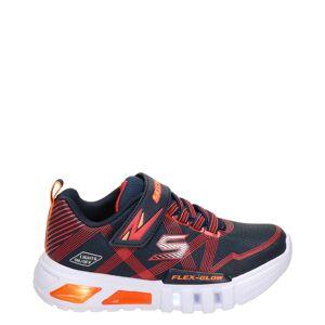 Skechers s-lights klittenbandschoenen blauw