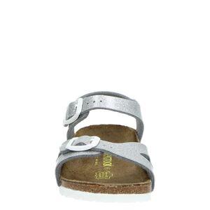 Birkenstock Rio sandalen  - Zilver - Size: 24;25;26;27;29