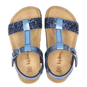 Kipling Rio sandalen blauw