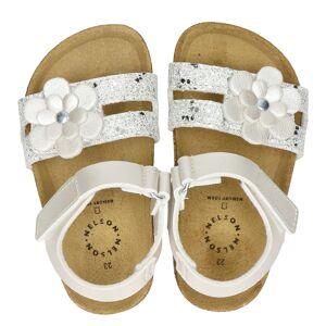 Nelson Kids sandalen zilver