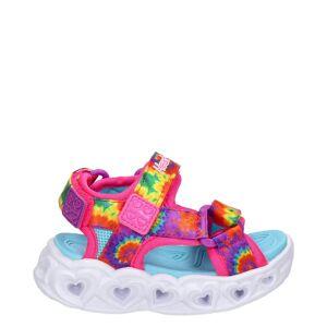 Skechers Heart Lights sandalen  - Multi - Size: 36;35;34;33;32;22;31;30;29;26;24;23