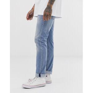 "Levi's 510 - Skinny-fit jeans met standaardtaille in 'nurse warp cool' light wash-Blauw  - male - Blauw - Grootte: 34"" Short"