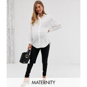 Mama.licious Mamalicious - Zwangerschapskleding - Skinny-fit jeans met buikband in zwart