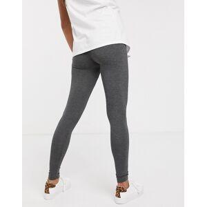New Look Maternity New Look - Zwangerschapskleding - Set van 2 leggings in grijs en zwart  - female - Grijs - Grootte: Small