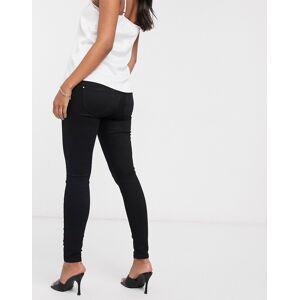 River Island Maternity River Island - Zwangerschapskleding - Molly - Skinny jeans met buikband in zwart  - female - Zwart - Grootte: 42