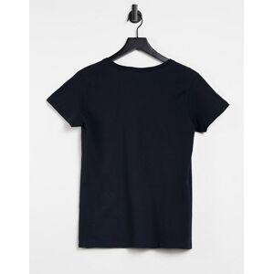 Aeropostale - 1987 - T-shirt met logo in zwart  - female - Zwart - Grootte: Extra Small