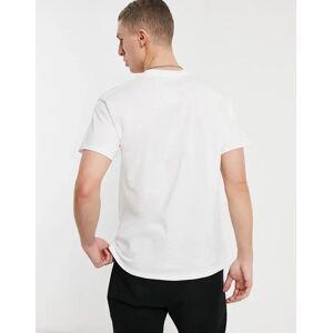 Aeropostale - Miami - T-shirt met klein logo-Wit  - male - Wit - Grootte: Large