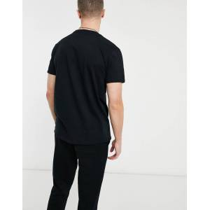 Aeropostale - Miami - T-shirt met klein logo-Zwart  - male - Zwart - Grootte: Extra Small