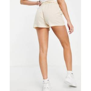 Parisian - Short met gestrikte taille in zandkleur-Neutraal  - female - Neutraal - Grootte: 44