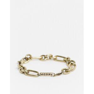 Icon Brand - Dikke schakelarmband in goud  - male - Goud - Grootte: No Size