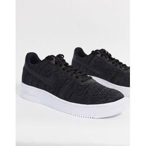 Nike - Air Force 1 - Flyknit - 2.0 sneakers in zwart  - male - Zwart - Grootte: 38.5