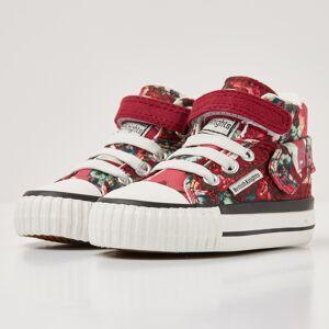 british knights ROCO Baby meisjes sneakers hoog - Rood - maat 24