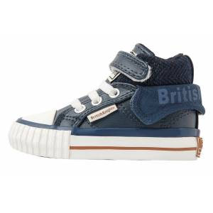 british knights ROCO BABY JONGETJES SNEAKERS HOOG, BLUE, 24, SYNTHETISCH