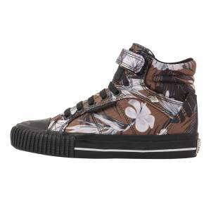 british knights DEE MEISJES SNEAKERS HOOG, BROWN, 33, POLYESTER