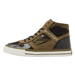 british knights SNAPPER Dames sneakers hoog - Olijf groen - maat 41