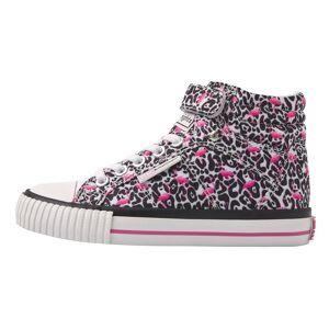 british knights DEE Hoge sneakers meisjes flamingo panterprint - Panterprint - maat 28