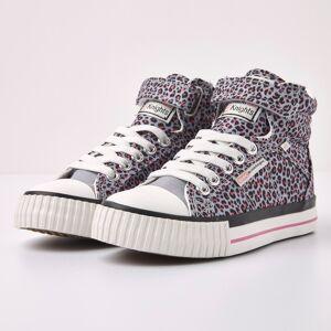 british knights DEE Meisjes hoge sneakers panterprint - Panterprint - maat 33