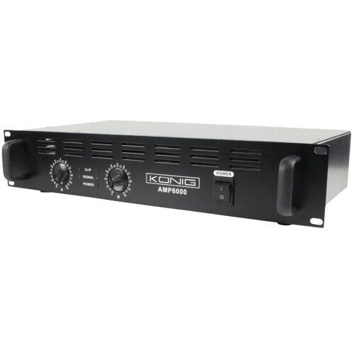 König PA Versterker - 2x 300 watt - König