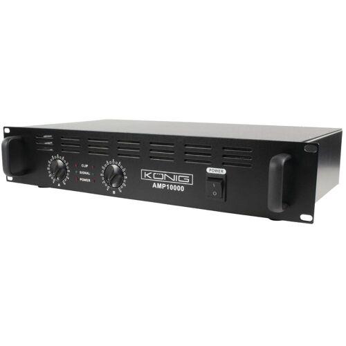 König PA Versterker - 2x 500 watt - König