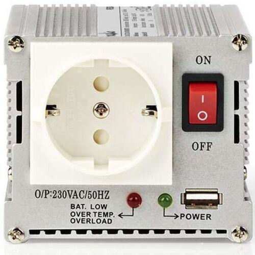 HQ Omvormer 24V naar 230V - 300 Watt - HQ