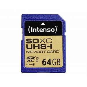Intenso SDXC 64GB Intenso Premium CL10 UHS-I Blister - Intenso