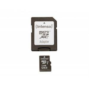 Intenso MicroSDXC 128GB Intenso Premium CL10 UHS-I +Adapter Blister - Intenso
