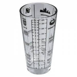 Quality4All Cocktailshaker van glas, 400 ml - Quality4All