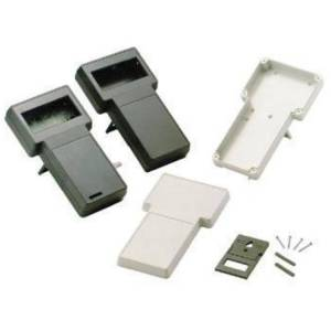 HQ Products GRIJZE T-BEHUIZING IN ABS MET VASTE DISPLAY - 237/95 x 131/95 x 43mm -