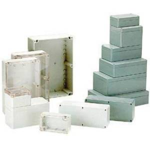HQ Products WATERBESTENDIGE ABS-BEHUIZING - DONKERGRIJS 160 x 160 x 90mm - HQ Prod