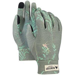 Burton Merino Wool Liner Gloves grijs