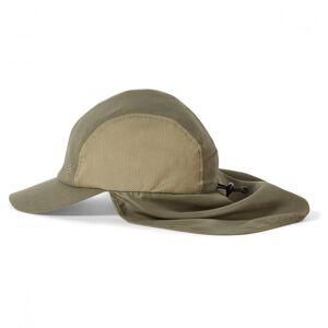 Royal Robbins - Bug Barrier Convertible Sun Cap - Hoed maat M/L, grijs