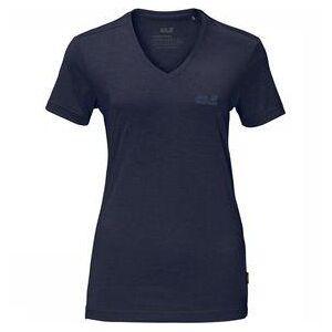 Jack Wolfskin Crosstrail T-Shirt Dames Marineblauw