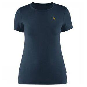 Fjällräven Bergtagen Thinwool T-Shirt Short Sleeve Dames Marineblauw