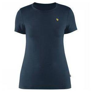 Fjällräven Bergtagen Thinwool T-Shirt Short Sleeve Dames Marineblauw