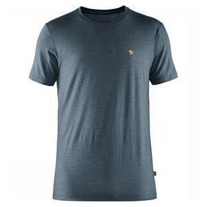 Fjällräven Bergtagen Thinwool T-Shirt Short Sleeve Marineblauw
