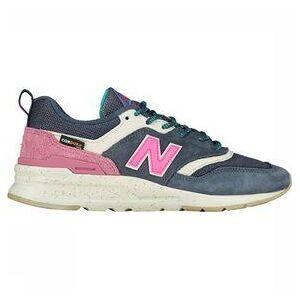 New Balance 99H Sneaker Dames Middenblauw/Middenroze