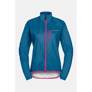 Vaude Drop Jacket III Wms jas Middenblauw/Middenroze