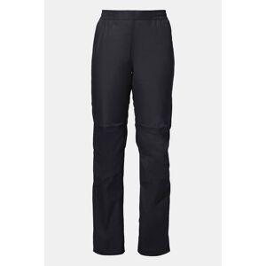 Vaude Drop Pants II Regular Wms regenbroek Zwart/Donkergrijs