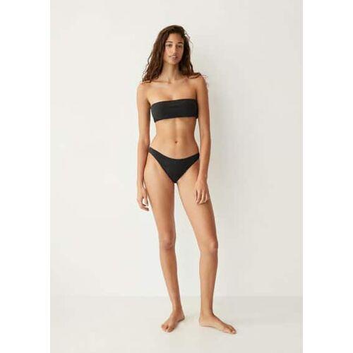 Mango Bikinislip - Zwart - L
