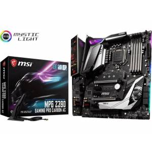 MSI Gaming MPG Z390 GAMING PRO CARBON AC Moederbord Socket Intel® 1151v2 Vormfactor ATX Moederbord chipset Intel® Z390