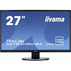 Iiyama PROLITE LED-monitor 68.6 cm (27 inch) Energielabel B (A++ - E) 1920 x 1080 pix Full HD 4 ms VGA, HDMI, DisplayPort, Hoofdtelefoon (3.5 mm jackplug), USB