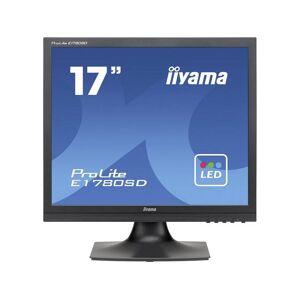 Iiyama PROLITE E1780SD-B1 LED-monitor 43.2 cm (17 inch) 1280 x 1024 pix SXGA 5 ms VGA, DVI TN LED