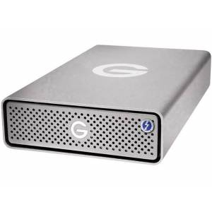 G-Technology 0G10276 G-DRIVE Pro SSD Externe SSD harde schijf 960 GB Zilver Thunderbolt 3