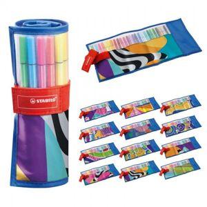Stabilo Viltstiften 68 Rollerset 25 Kleuren