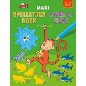 Deltas Maxi Spelletjesboek (5-7 jaar)