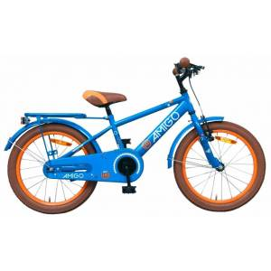 AMIGO Sports 20 Inch 28 cm Jongens Terugtraprem Blauw
