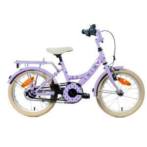 Bike Fun Lots of Love 12 Inch 21,5 cm Meisjes Terugtraprem Paars