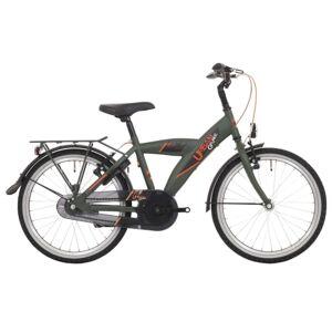 Bike Fun Urban 20 Inch 33 cm Jongens Terugtraprem Donkergroen